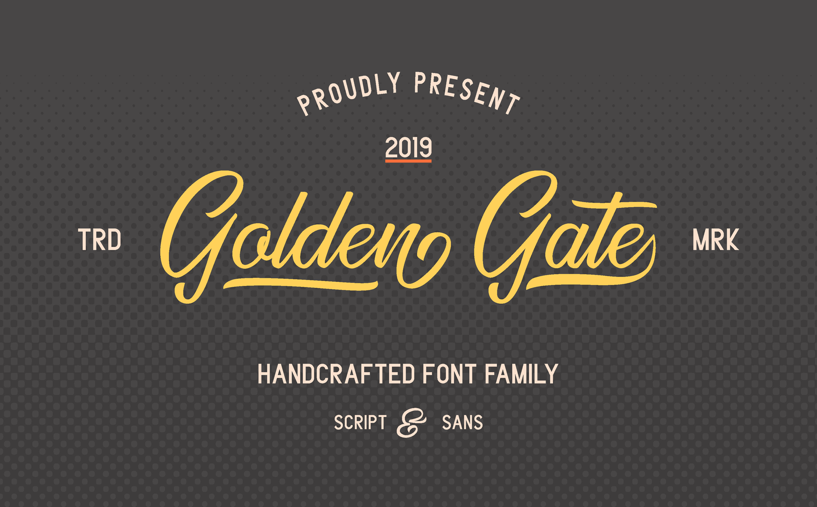 Golden Gate - Font Duo