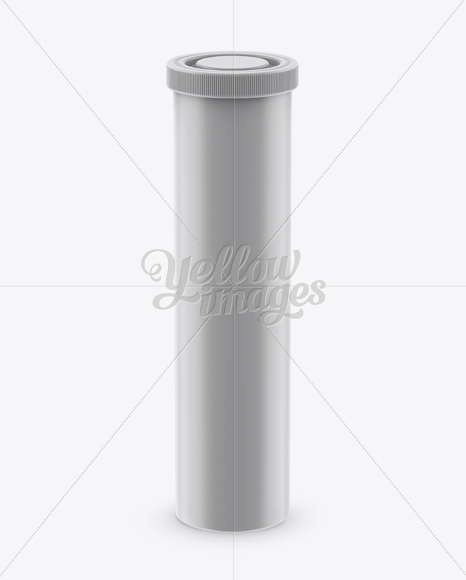 Download Matte Plastic Effervescent Tablets Tube Mockup Front View High Angle Shot In Tube Mockups On Yellow Images Object Mockups PSD Mockup Templates