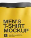 Men's T-Shirt HQ Mockup - Back View