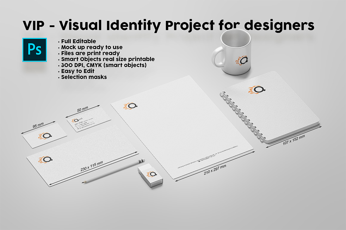 VIP - Visual Identity Project for designers