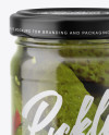 Pickled Cucumbers Jar Mockup