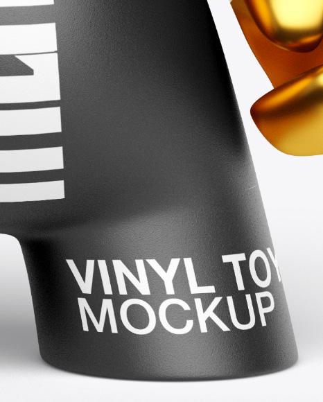 DIY Vinyl Toy Mockup - Front View