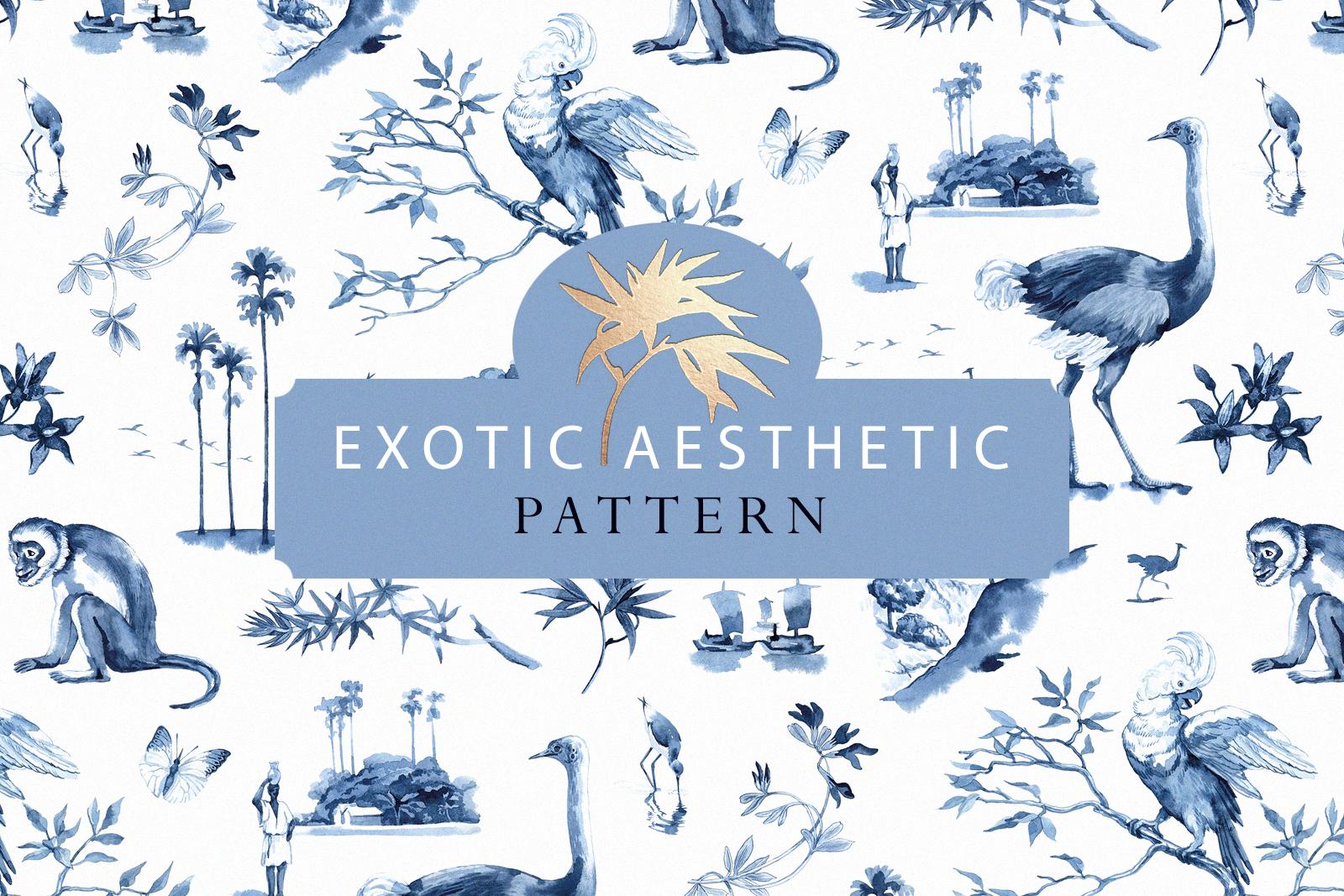 EXOTIC AESTETIC pattern