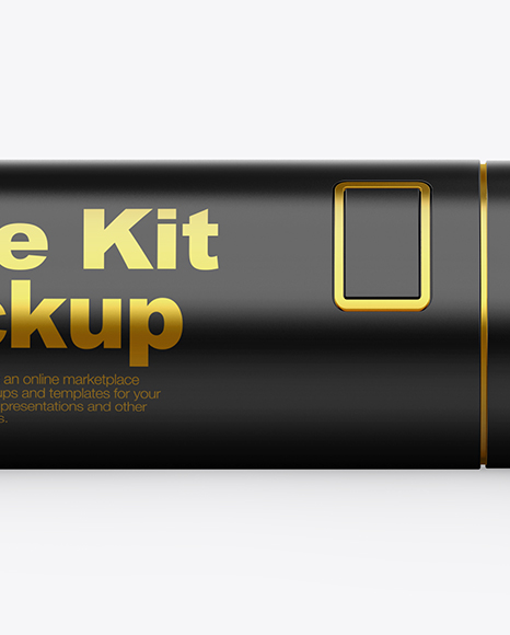 Glossy Vape Kit Mockup