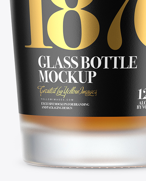 Whisky Bottle Mockup Free
