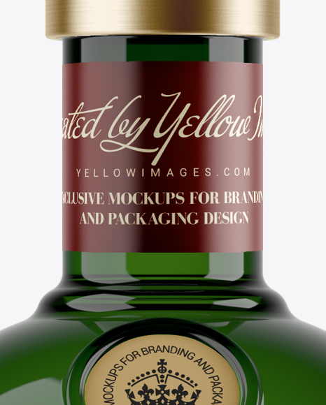 Download 700ml Green Glass Liquor Bottle Mockup In Bottle Mockups On Yellow Images Object Mockups Yellowimages Mockups