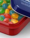 Glossy Candy Box Mockup