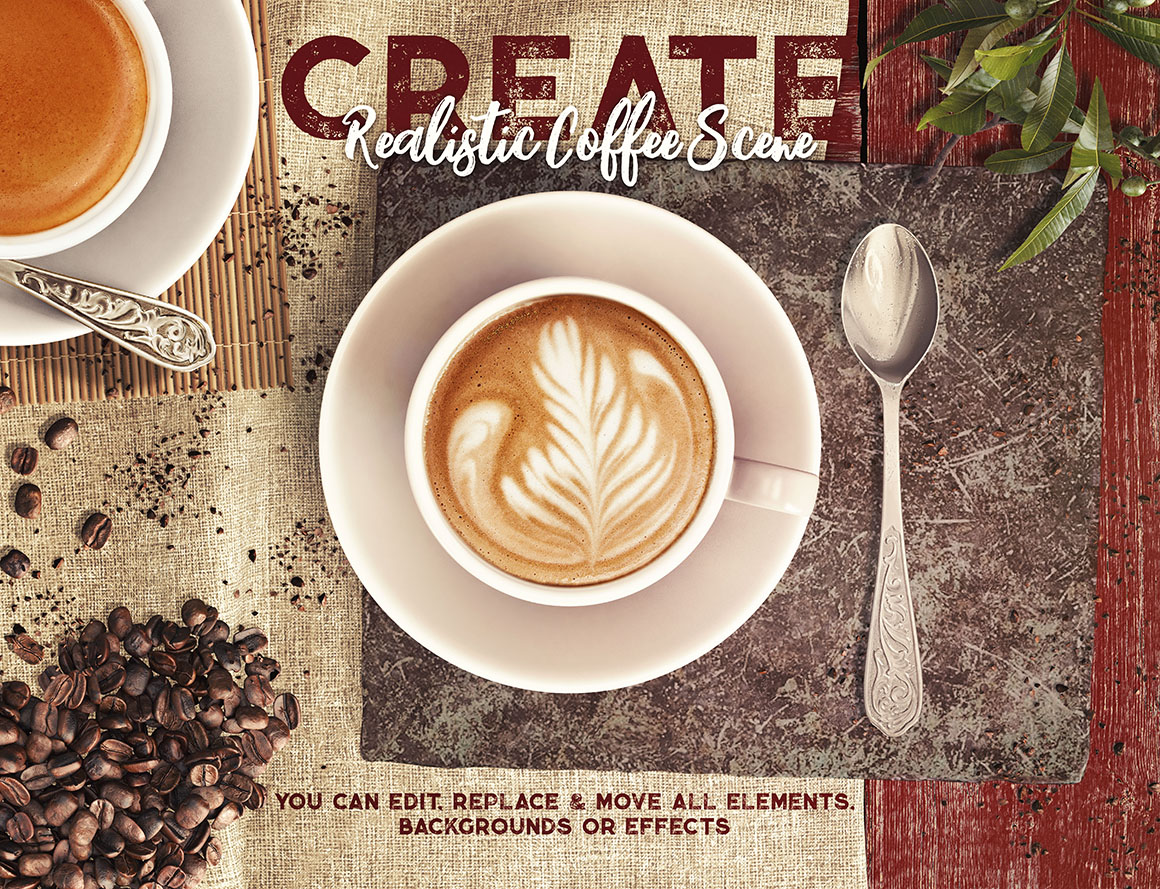 Coffee & Barista Mock-up Creator