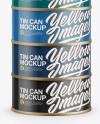 Six Cans Mockup