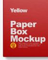 Opened Box w/ Pack Mockup