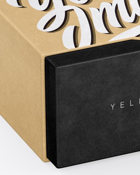 Textured Box Mockup