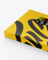 Box w/ Crayons Mockup