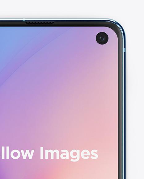 Samsung Galaxy S10E Mockup