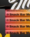 Matte Snack Box Mockup