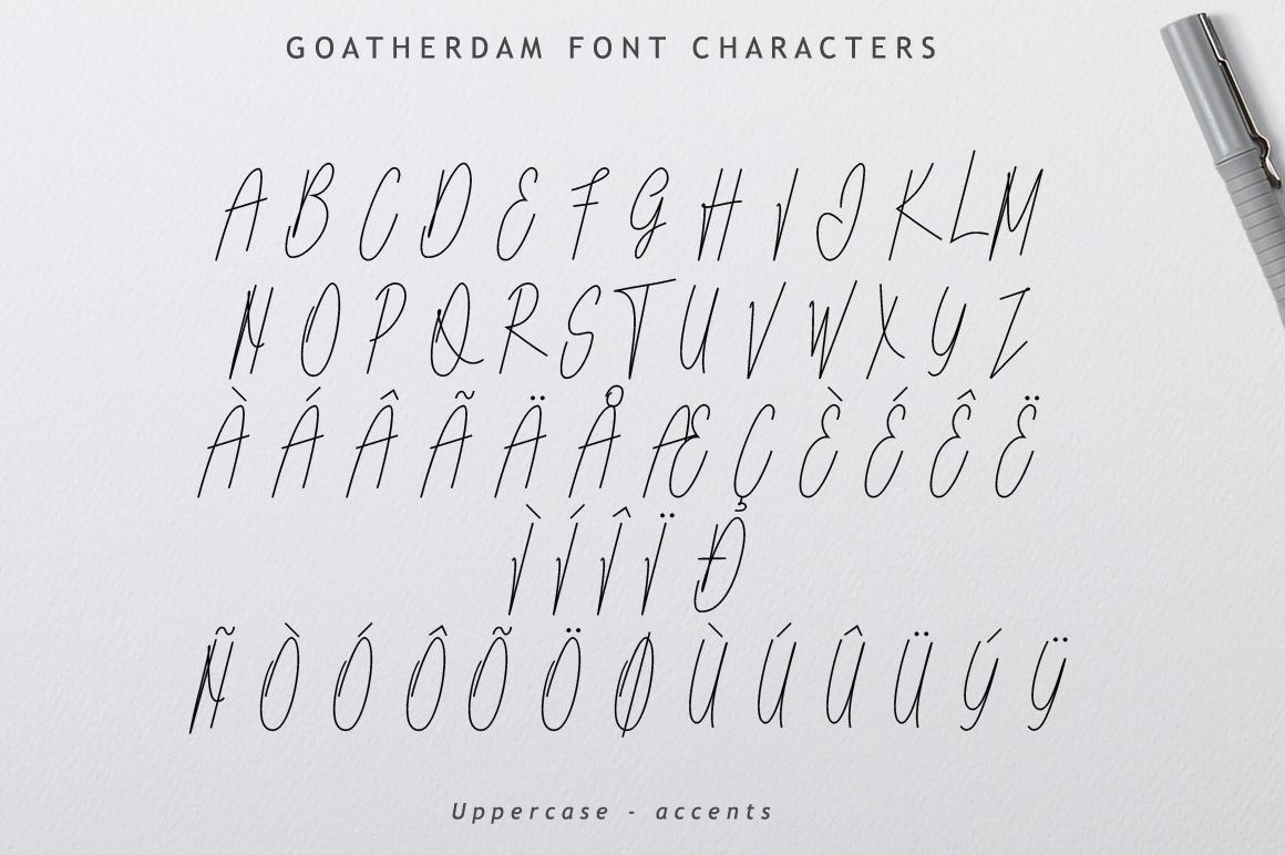 Goatherdam Font