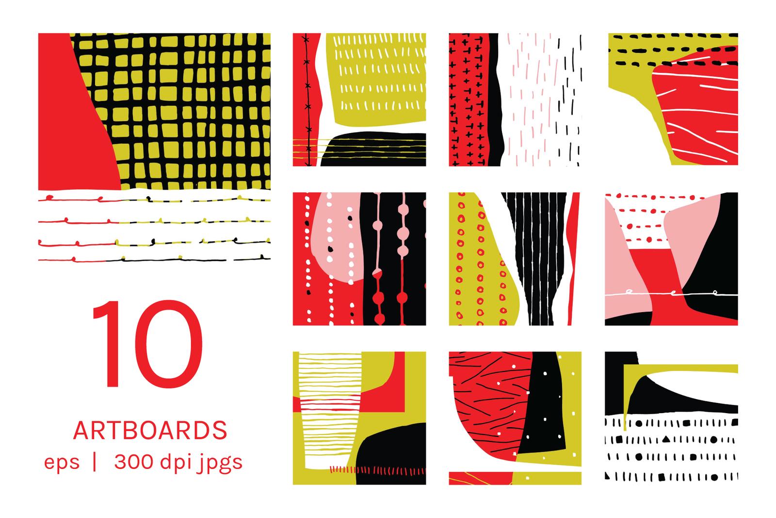 Lines + Stripes   ArtBoards + Patterns