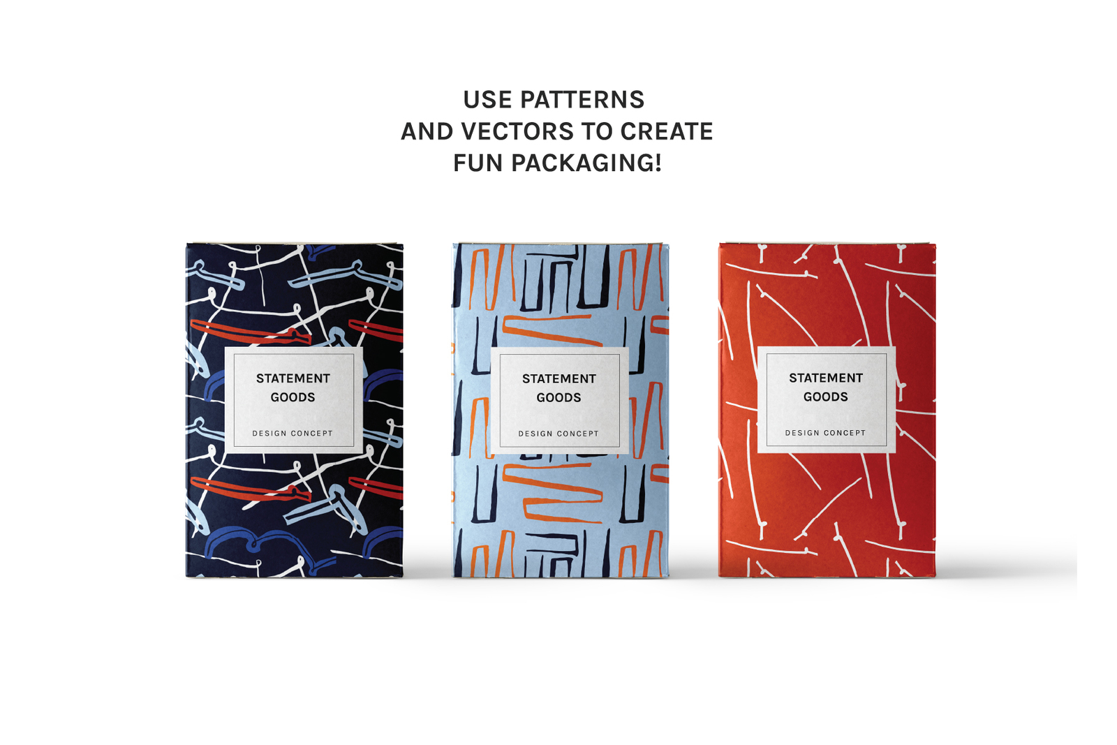 Minimal Lines | Patterns + Artboards