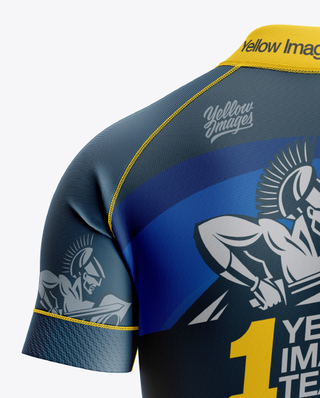 Women's Cycling Skinsuit Mockup - Back View