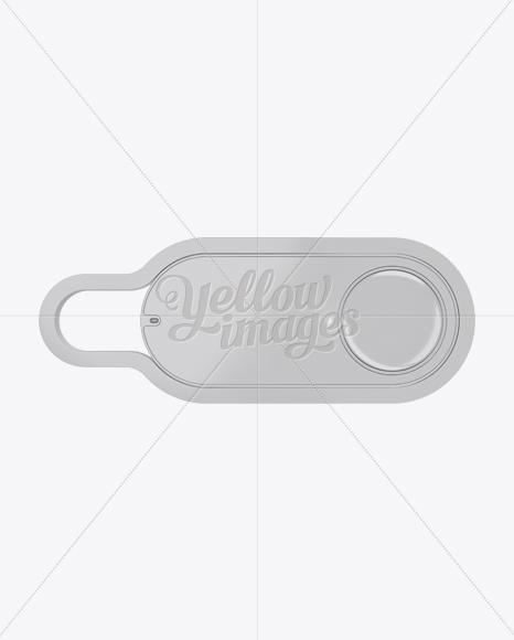 Download Dash Button Mockup - Top View Free Mockups
