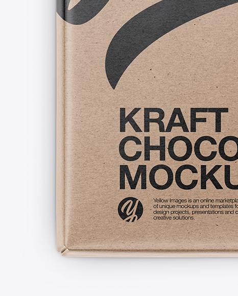 Kraft Chocolate Bar Mockup