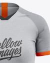 Women's Soccer Jersey Mockup - Front View
