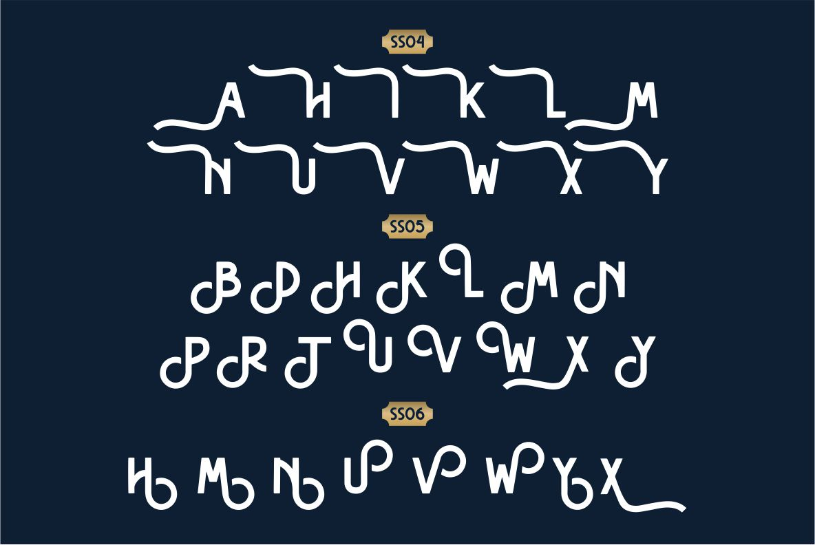 Hasthon - Vintage Fonts