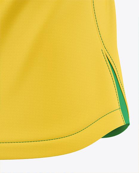 Women's Soccer Jersey Mockup - Back Half-Side View