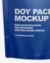 Matte Doy Pack Mockup