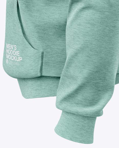 Men's Full-Zip Hoodie Mockup