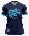 Women's Soccer Jersey Mockup - Front View Of Soccer T-Shirt