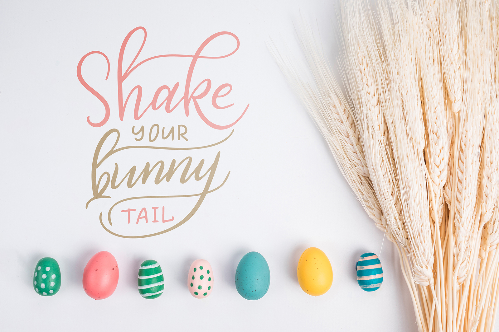 Easter egg-Graphic clipart+lettering