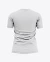 Women's Soccer Jersey Mockup - Back View Of Soccer T-Shirt