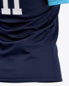 Women's Soccer Jersey Mockup - Back Half Side View