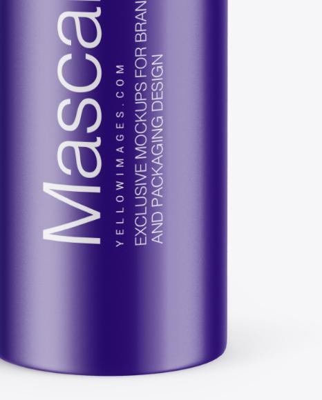 Matte Mascara Tube Mockup