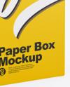 Glossy Box Mockup