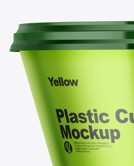 Download Plastic Cup With Cheese Mockup PSD - Free PSD Mockup Templates