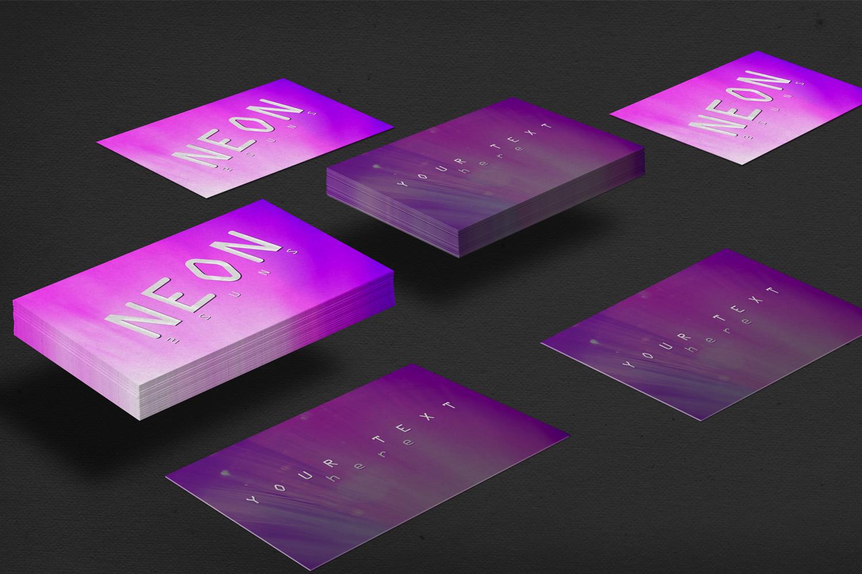 Neon backgrounds textures pack