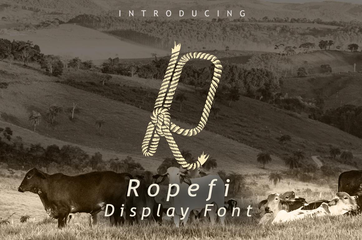 Ropefi Font