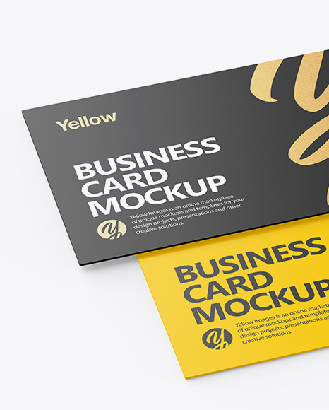 Free Mockup Card Business
