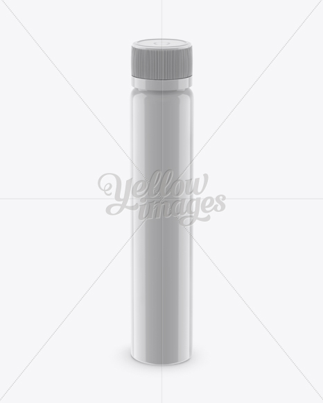 Download Glossy Plastic Sport Nutrition Bottle Mockup Front View High Angle Shot In Bottle Mockups On Yellow Images Object Mockups Yellowimages Mockups