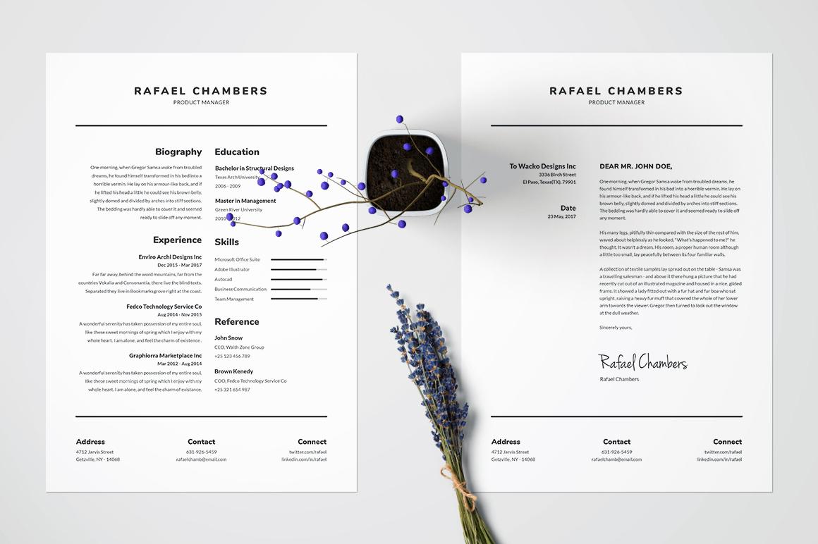 Resume/CV Template - Rafael