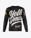 Men's Long Sleeve Sweatshirt Mockup
