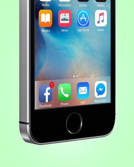 Apple iPhone SE Mockup