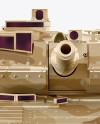 Tank Mockup - Front View