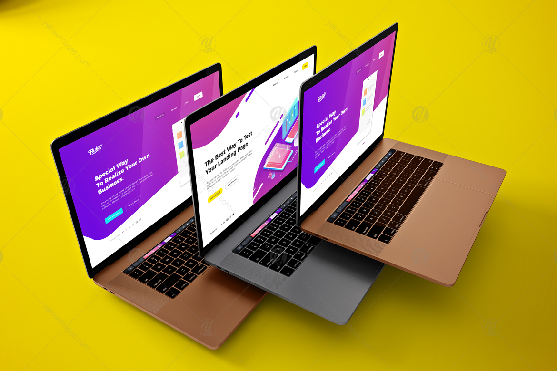 Floating MacBook Pro
