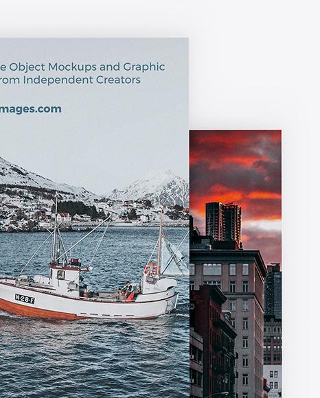 Two Brochures Mockup
