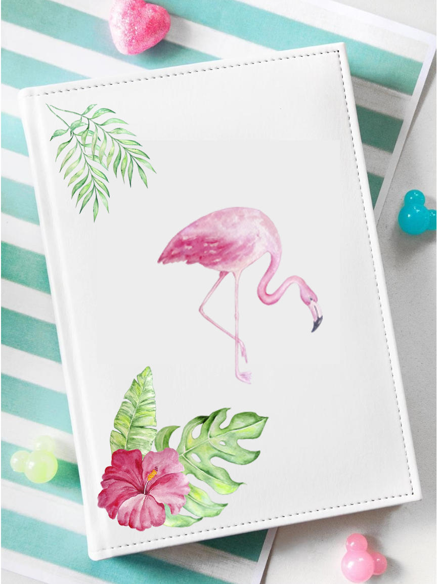 Tropical Watercolor Set Clipart