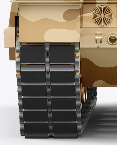 Tank Mockup - Back View