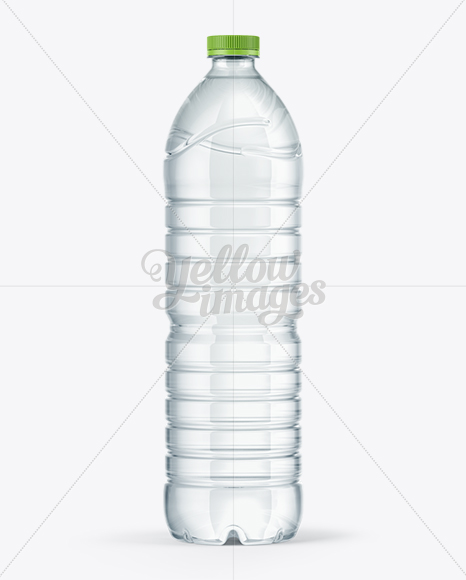 1,5L Water Bottle Mockup