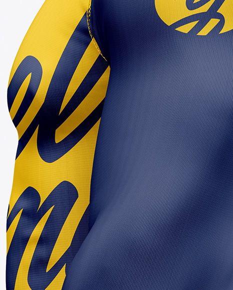 Men's Jersey on Athletic Body Mockup